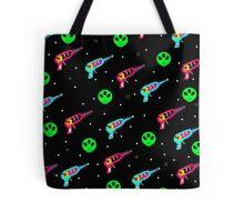 Alien Zap Tote Bag