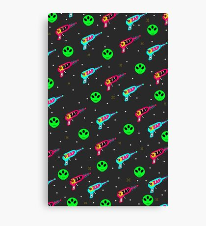 Alien Zap Canvas Print