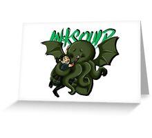 SQUIDDY HUG  Greeting Card