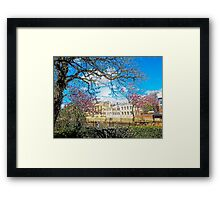 York City Guildhall river Ouse Framed Print