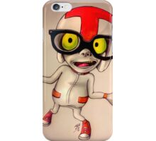 Guy with glasses iPhone Case/Skin