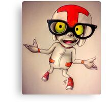 Guy with glasses Canvas Print