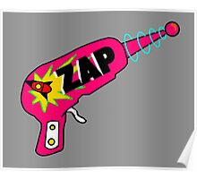 Pink Zap Poster