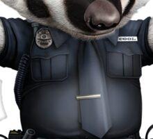 BADGER POLICE Sticker