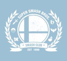 Smash Club Ver. 2 (White) Kids Tee
