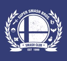 Smash Club Ver. 2 (White) T-Shirt