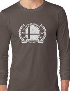 Smash Club Ver. 2 (White) Long Sleeve T-Shirt