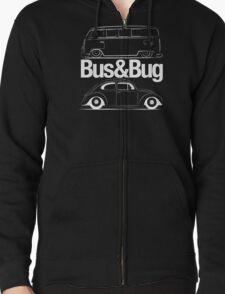 VW Bus & Beetle Logo T-Shirt