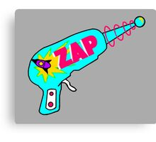 Blue Zap Canvas Print