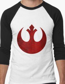 Rebel Alliance vintage logo Men's Baseball ¾ T-Shirt