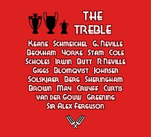 Manchester United 1999 Treble Winners Unisex T-Shirt
