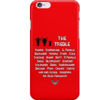 Manchester United 1999 Treble Winners iPhone Case/Skin