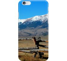 Just Over The Fence iPhone Case/Skin