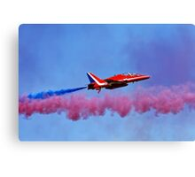 The RAF Red Arrows Aerobatic Team Canvas Print