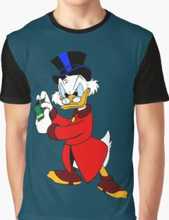 Scrooge McDuck Full Graphic T-Shirt