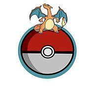 Charizard Pokemon Photographic Print