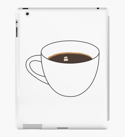 Coffee Cup 2 iPad Case/Skin