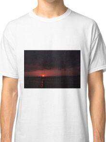 The Sun Sets Over Charlotte Harbor Classic T-Shirt