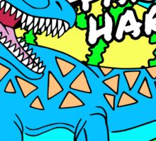 Party Hard Mosasaurus Sticker