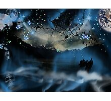 The Blue Mists Of Time Photographic Print