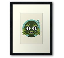 Little Creature from the Black Lagoon Framed Print