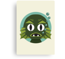 Little Creature from the Black Lagoon Canvas Print