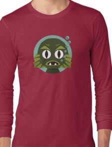 Little Creature from the Black Lagoon Long Sleeve T-Shirt