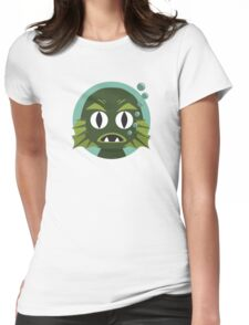Little Creature from the Black Lagoon Womens Fitted T-Shirt