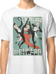 Jules Cheret - L Horloge Les Girard. Dancer painting: dance, ballet, dancing woman, ballerina, tutu, femine, women, dancer, disco, dancers, girls Classic T-Shirt
