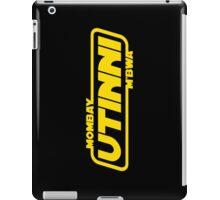 Mombay M'bwa. UTINNI! iPad Case/Skin