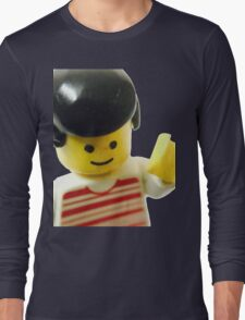 Retro Lego Minifigure Long Sleeve T-Shirt