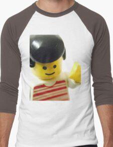 Retro Lego Minifigure Men's Baseball ¾ T-Shirt