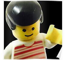 Retro Lego Minifigure Poster
