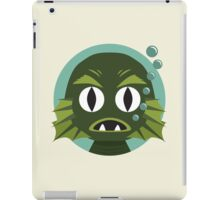 Little Creature from the Black Lagoon iPad Case/Skin