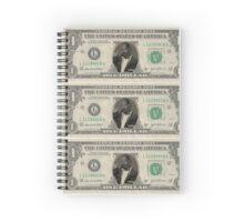 Snoop Dollar Spiral Notebook