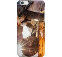 metal cutting vintage iPhone Case/Skin