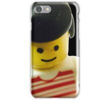 Retro Lego Minifigure iPhone Case/Skin