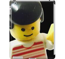 Retro Lego Minifigure iPad Case/Skin