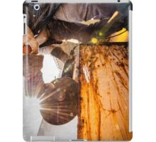 metal cutting vintage iPad Case/Skin