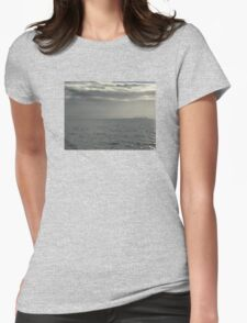 Ghost Barge Womens Fitted T-Shirt