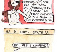 Comic - Single (in Portuguese) by meninanaopode
