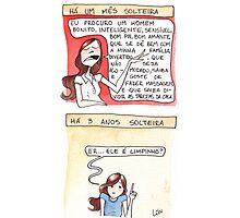 Comic - Single (in Portuguese) Photographic Print