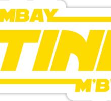 Mombay M'bwa. UTINNI! Sticker