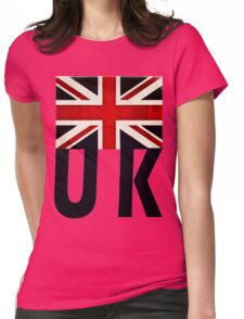 UNION JACK UK Womens Fitted T-Shirt