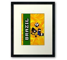 World Cup 2014: Brazil Framed Print