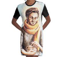 Alfredo Aldarisio and Pickles  Graphic T-Shirt Dress