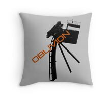 Oblivion - Alton towers Throw Pillow