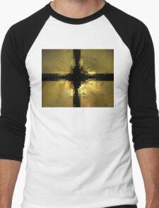 Gold Box Clover Men's Baseball ¾ T-Shirt