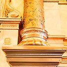 Kansas Capital Indoor Pillar by Paul Danger Kile