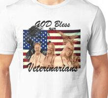 God Bless Our Vets - ONE:Print Unisex T-Shirt